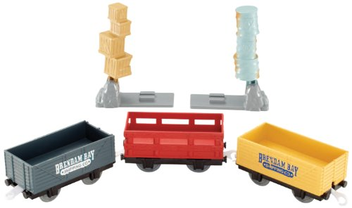 (Fisher-Price Thomas & Friends TrackMaster, Brendam Bay Cargo Delivery Cargo and Cars)