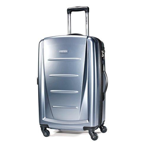Samsonite Luggage Winfield 2 Light Spinner Bag, Blue Slate, 24 Inch>