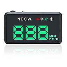 G101 Green Universal Car HUD GPS Speedometer Head UP Display Windshield Digital Car Speed Projector Over Speed Alarm