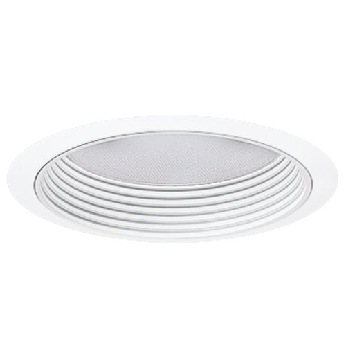 HALO Recessed 370W 6-Inch Trim Regressed Albalite Lens for Compact Fluorescent with White Baffle ()