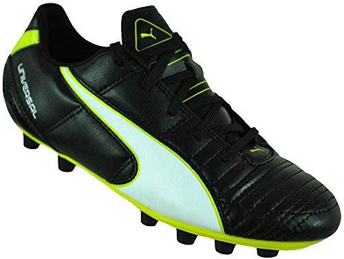 Noir En Synthtique Fg Pour Puma De Jr Blanc Matriau Ii Enfants Football Jaune Chaussures Universal qqr7BAH