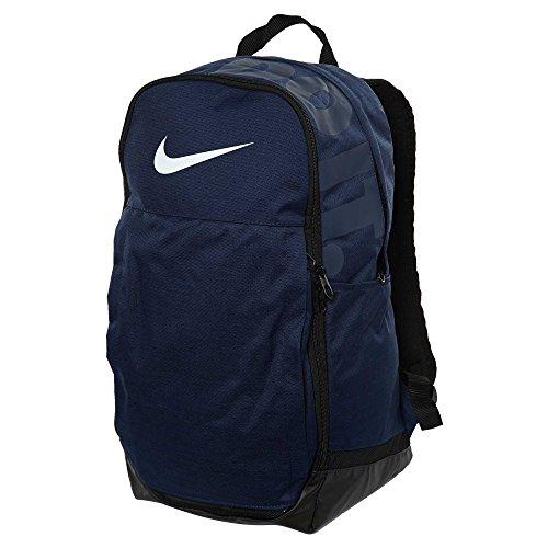 Nike Brasilia (Extra Large) Training Backpack Midnight Navy/Black/White Size X-Large
