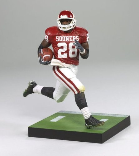 - McFarlane Toys NCAA COLLEGE Football Sports Picks Series 1 Action Figure Adrian Peterson (Oklahoma Sooners) Red Jersey