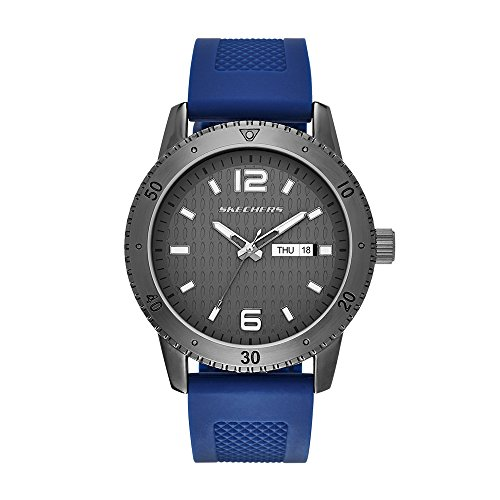 Skechers Men's SR5002 Analog Display Quartz Blue Watch