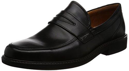 Ecco Men's Holton Penny Loafer - Black - 39 M EU / 5-5.5 ...