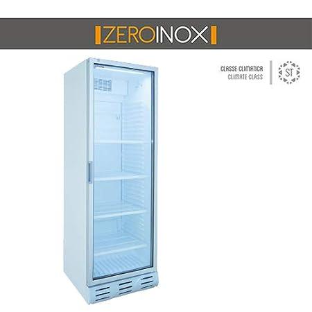ZeroInox Nevera Vitrina bibibibite - Refrigeración estática con ...