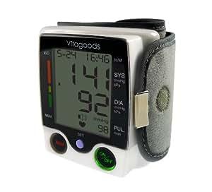 Vitagoods Travel Pulse Portable Wrist Blood Pressure Monitor - VGP-4200