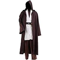 Cosdaddy® Mens Cosplay Costume Tunic Robe Full Set (XXL-men)