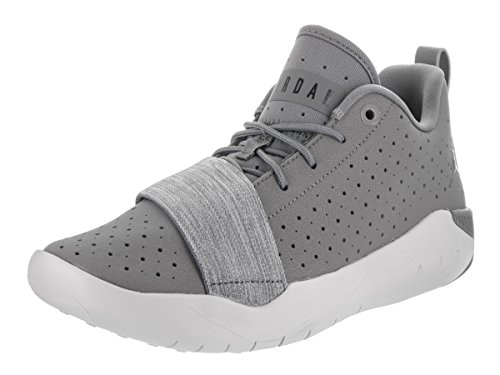 Jordan Nike Kids 23 Breakout BG Basketball Shoe Cool Grey/Black Pure Platinum