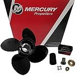 Mercury Spitfire 4-Blade Aluminum Pontoon Propeller Prop 13.8 x 11P 488M8026560