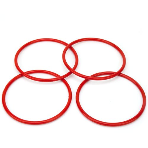 (4 Pack Large Ring Toss Rings with 5