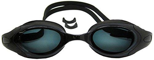 Scuba Choice Black UV Nearsighted Prescription Corrective Optical RX Lenses Swimming Goggles, - Lenses Rx Com