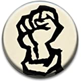 Fist Political Badge by RetroBadge
