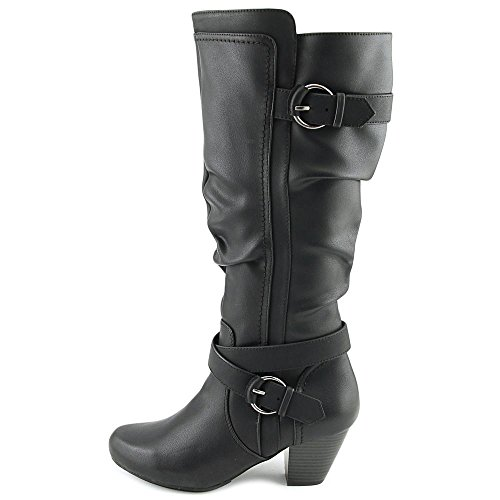 Mujeres Rialto Botas Black Smooth Talla TXHqUwd