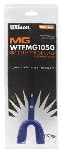 Wilson Adult Mouth Guard With Starp PURPLE