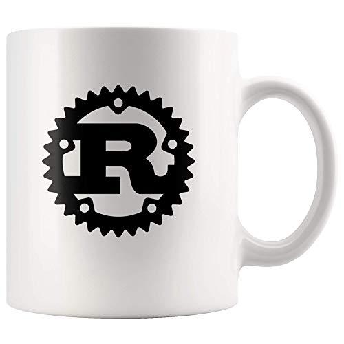 Rust Programming Language Logo 11oz Coffee Mug/Cup