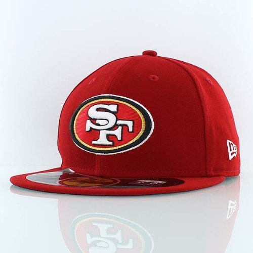 (Men's New Era San Francisco 49ers Super Bowl XLVII Onfield 59FIFTY? Football Structured Fitted Hat 7 5/8 )