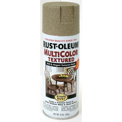 12 Oz Desert Bisque Multicolor Textured Stops Rust Spray Paint [Set of 6] (Paint Spray Desert)