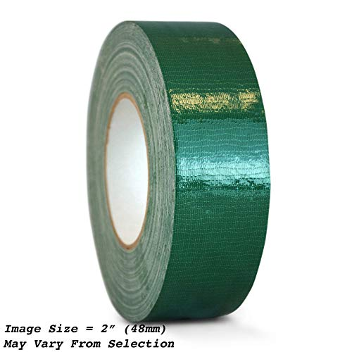 WOD CDT-36 Advanced Strength Industrial Grade Dark Green Duct Tape, Waterproof, UV Resistant For Crafts & Home Improvement (Available in Multiple Sizes & Colors): 2 in. x 60 yds. (Pack of 1)