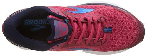 Brooks Women's Aduro 5 Training Shoes, Blue Pink (Virtualpink/Eveningblue/Hawaii 1b691)