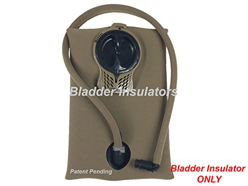 Hydration Tube Covers Bladder Insulators are Compatible with Camelbak Reservoir Water Bladder. Will fit MIL Spec Antidote and ()
