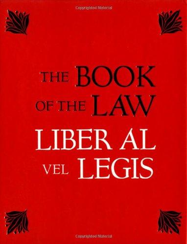 Download The Book of the Law: Liber Al Vel Legis ebook