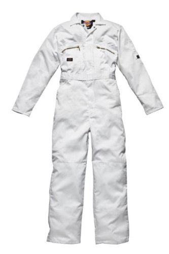 Boilersuit - Dickies Redhawk WD4839 - Size: 40' x 30' regular - Color: white Yarmo