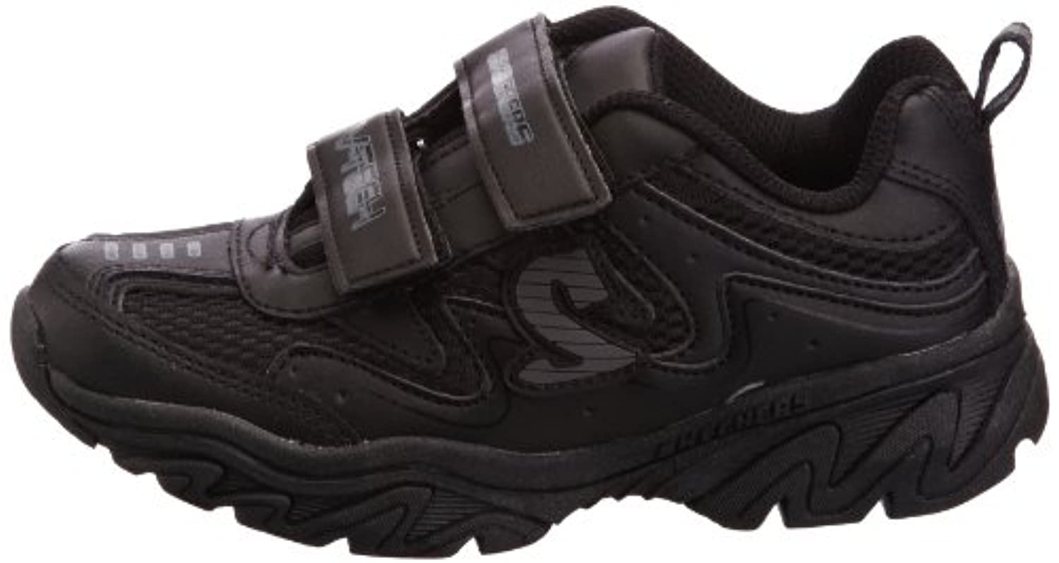 Skechers Boys Ragged Dox Shoes, Black, 10.5 Child UK