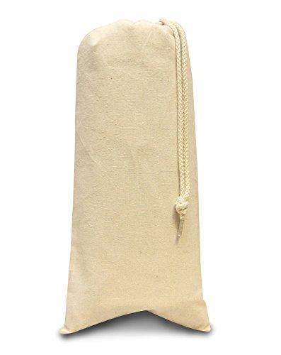Liberty Bags Drawstring Wine Bag (Natural) (One)