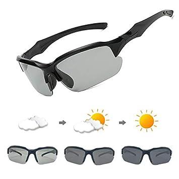 WBAHJ Gafas de Sol de Ciclismo fotocromáticas Gafas de ...