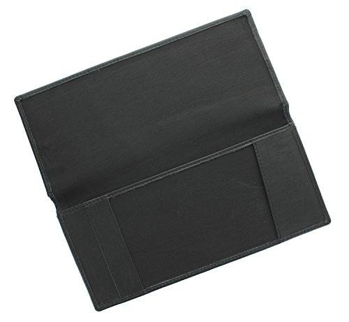 Titular Cognac Negro Comprobar De Estilo Piel Libro Ashlie Ac123 tp7TqxSw
