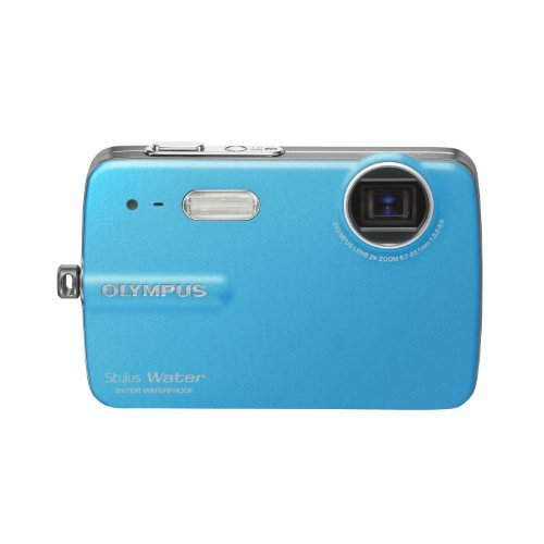 Olympus Stylus 550 WP 10MP Waterproof Digital Camera with 3x Optical Zoom and 2.5-Inch LCD (Blue) by Olympus