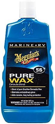 Meguiar's 5616 Marine/RV Pure Wax Carnauba Blend, 16 Fluid Ounces