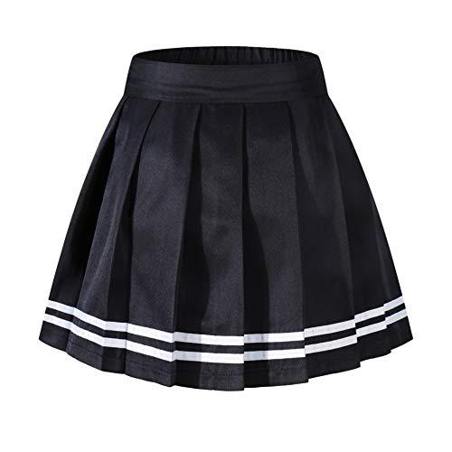 Beautifulfashionlife Girl's Pleated School Girl Costumes Scooter Skorts