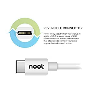 noot products Charging Cable for Huawei Honor 10/9/8/View 10/P20 Pro/P20/Mate 10 Pro/Mate 10/P10/Mate 9-6ft Type C to A Fast Charger Cord Charge