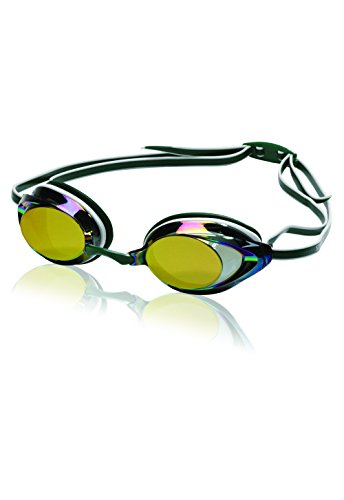 Official Swim Goggle on Amazon - Speedo Vanquisher 2.0 Mirrored Swim Goggle, Green