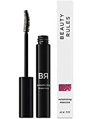 Beauty Rules Volumizing Mascara, Black, 0.25 Ounce