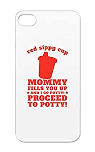 Red Sippy Cup Music White Red Aldean Country Fashion Baby Bryan Baby Sippy Family Cute TPU For Iphone 5/5s Protective Hard Case