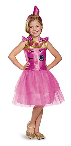 Disguise Lippy Lips Classic Shopkins The Licensing Shop Costume, (Let's Party Halloween Costumes)