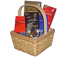 Lindt Lovers Chocolate Gift Basket