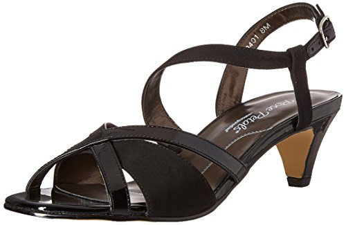 Rose Petals Women's Lafayette Dress Sandal Black 6.5 2W US