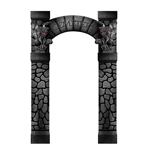 Advanced Graphics Cemetery Arch Entrance Life Size Cardboard Cutout -