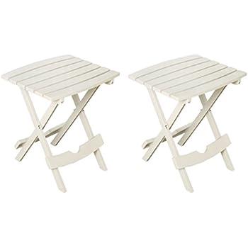 Amazon Com Highwood Folding Adirondack Side Table White