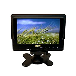 Lilliput 667gl 7 Inch On-camera Hd Lcd Field Monitor w/ Hdmi Component Composite (No Battery Included)