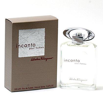 Salvatore Ferragamo Incanto Pour Homme 3.4 oz EDT Spray Mens New (Ferragamo Pour Homme Edt)