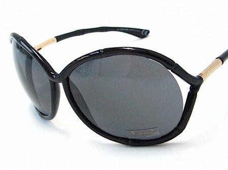 cde4f41e957 New Tom Ford Claudia Tf75 Tf 75 B5 Black Frame Sunglasses Grey Lens Size   64-14-120  Amazon.co.uk  Clothing