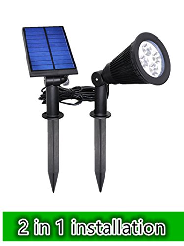 Falove LED Solar Mission Lantern, Vintage Solar Powered Waterproof Hanging Umbrella Lantern Candle Lights Led with Clamp Beach Umbrella Tree Pavilion Garden Yard Lawn - Clamp Mount Deck