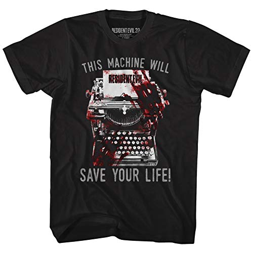 American Classics Resident Evil Horror Science Fiction Film Video Game Eyes Hand Adult T-Shirt 4X
