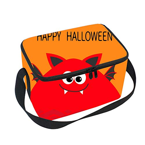 Halloween Funny Animal Insulated Durable Lunch Bag - Reusable Meal Tote for Boys and Girls School ()