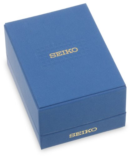 Seiko Men's Two-Tone Black Dial Solar Calendar Watch